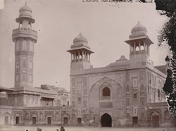 North gateway of Wazir Khan's Mosque, Lahore.